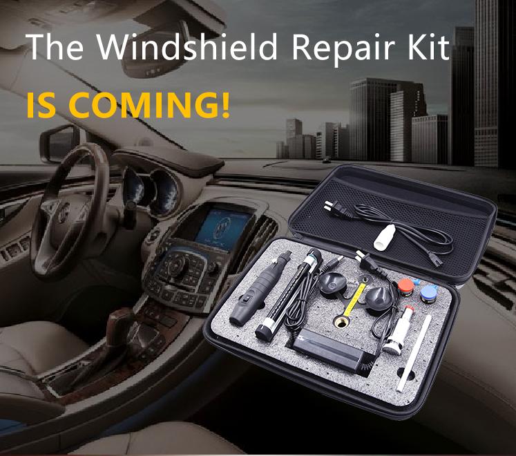 Allplace سيارة إصلاح الزجاج أداة إصلاح الزجاج الأمامي كيت استعادة الزجاج الأمامي