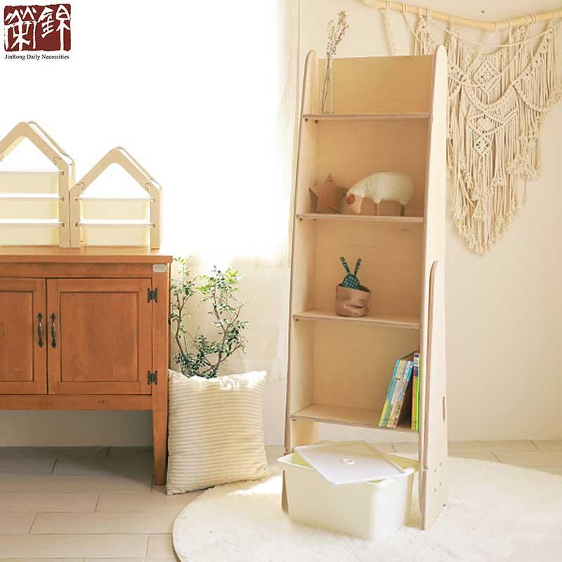 Children plywood furniture wooden slide for kids