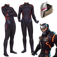 Game Battle Royale Omega Oblivion Link Battlegear Cosplay Costume Zentai Jumpsuits Bodysuit With Led Mask Halloween Suit