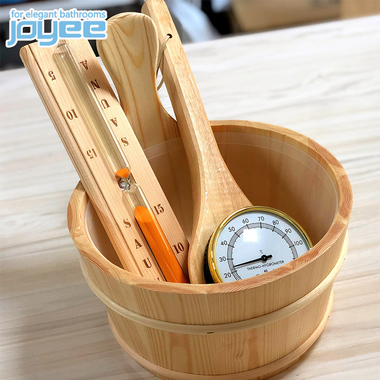 JOYEE Factory hot sale wooden sand timer foot bath bucket sauna with prices