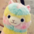 Hot-Selling Colorful Animal Soft Toy Stuffed, Attractive Rainbow Plush Alpaca Toy
