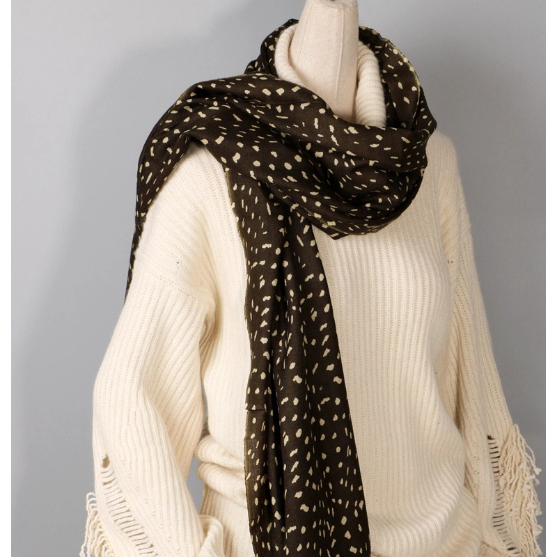 high quality winter ladies wool cashmere scarf yiwu