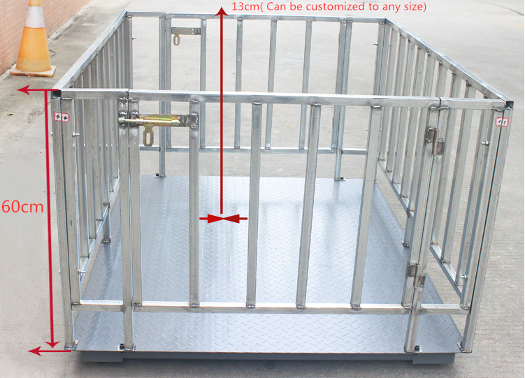 1000kg-3000kg electric floorscale cattle weighing scale platform scales