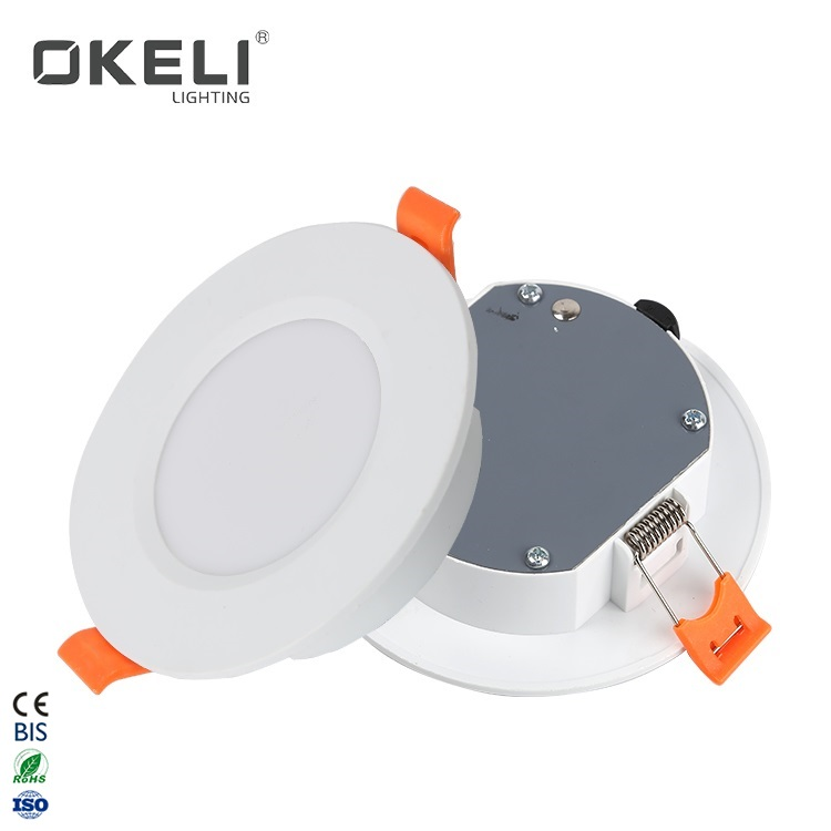 OKELI Cheap MIni Round Indoor SMD Plastic 5W 9W 12W 18W 24W LED Recessed Down Light Prices