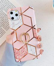 Простой Мраморный ромб с перекрестным ремешком чехол для телефона для samsung galaxy note10 pro Чехол s8 s9 s10 плюс note8 note9 A40 A50 A70 крышка(Китай)