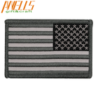 Graphic Customization [ Flag Badge ] Embroideried Badge Custom Embroidery USA Flag Army Patches Embroidered Tactical Patch Military Armband Army Badge