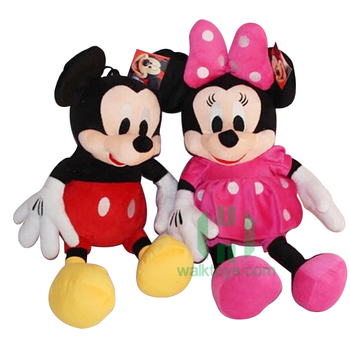 HI mickey & minnie mouse stuffed toys with soft plush in stock toys on promotion