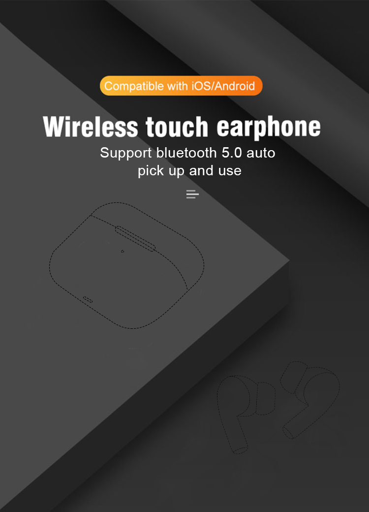 i9000 pro tws rename gps Positioning 1:1 h1 chip earbuds bluetooth 5.0 earphone headset i9000 tws pro with ANC noise cancelling