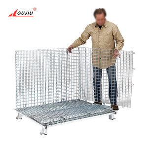 Stackable Gabion Oem Galvanized Wire Divider Wire Cage Rock Steel Mesh Box Gabion Cage