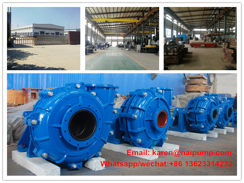10/8 G-NAH Heavy duty industrial suction machine slurry pumps/Bomba de lodos