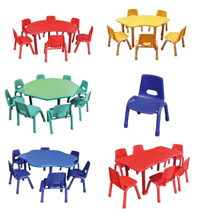 Good-looking ! Durable ! Kindergarten daycare preschool tables and chairs children furniture sets