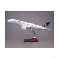Resin handmade decorative scale diecast model aircraft model