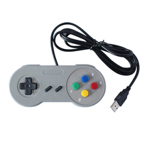 Wired Classic Game Controller for Nintendo SNES Controllers Super Mini USB Controllers
