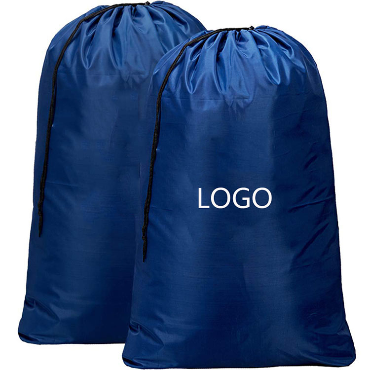 wholesale custom most popular eco friendly cheap oversize durable reusable hotel home nylon laundry bags in bulk