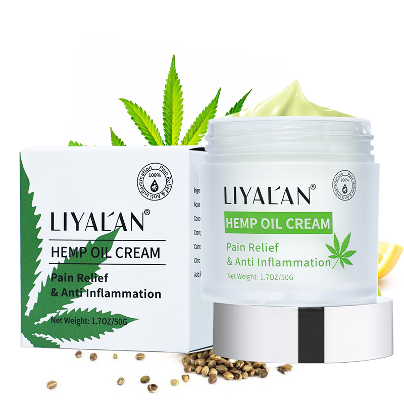 OEM Private Label 100% Natural Organic 5000mg Hemp CBD Oil <strong>cream</strong> For Body And Face Muscle Pain Relief