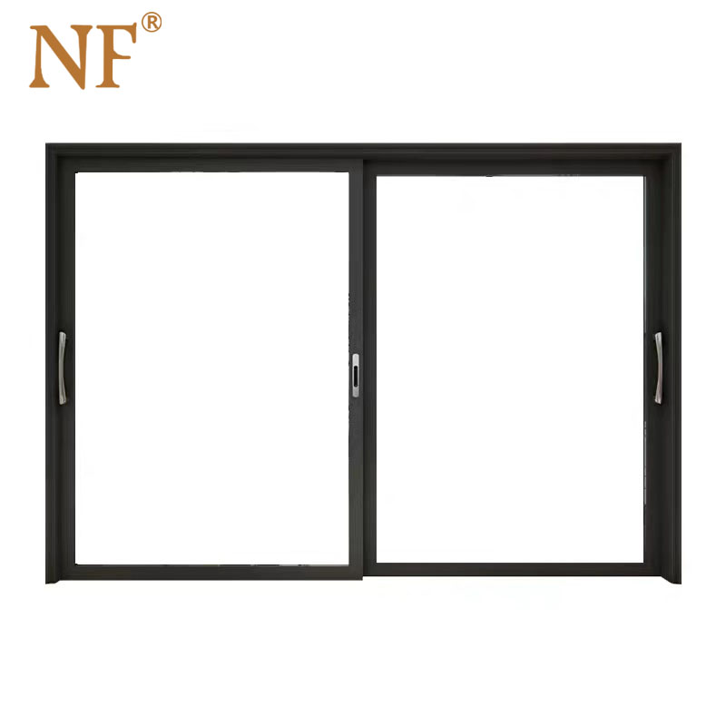 NF Aluminum Power Coated Finished Glass Slim Sliding <strong>Doors</strong>