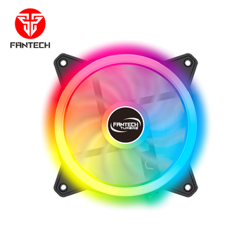 Fantech New Arrival FB301 Silent Tower CPU RGB Gaming PC Case Cooling Fan