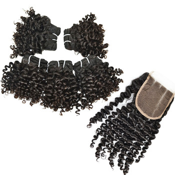 Short Kinky Curly Hair Brazilian Human Hair Weave 10Inch Virgin Hair Selling Best