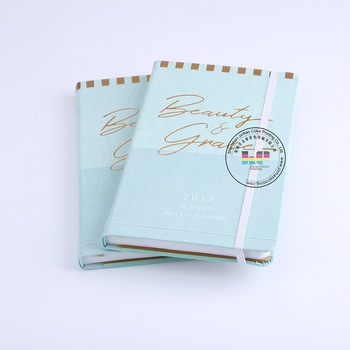 Custom softcover series senior book to wait diary exquisite series notebook