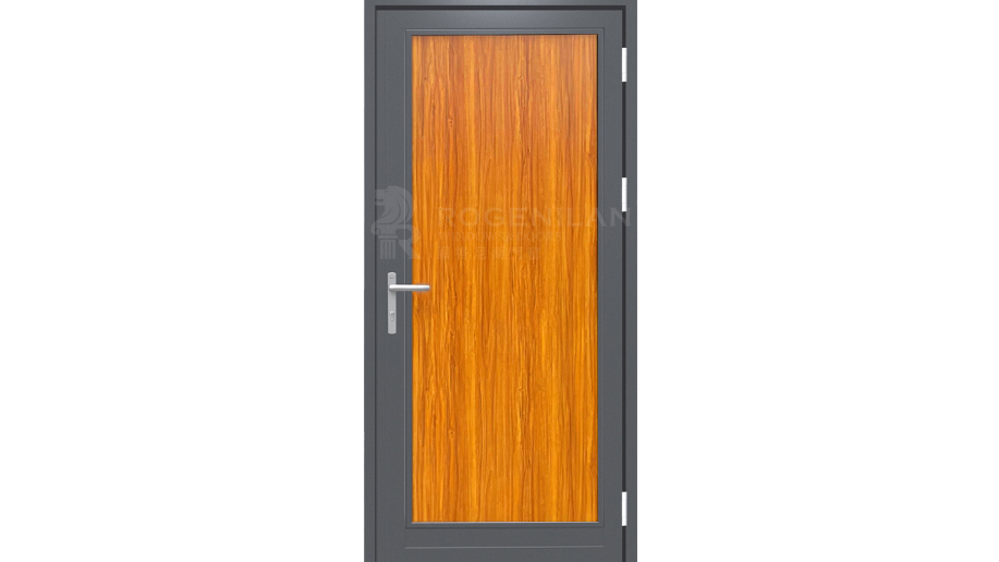 Honeycomb aluminum frame plate front door entry houses