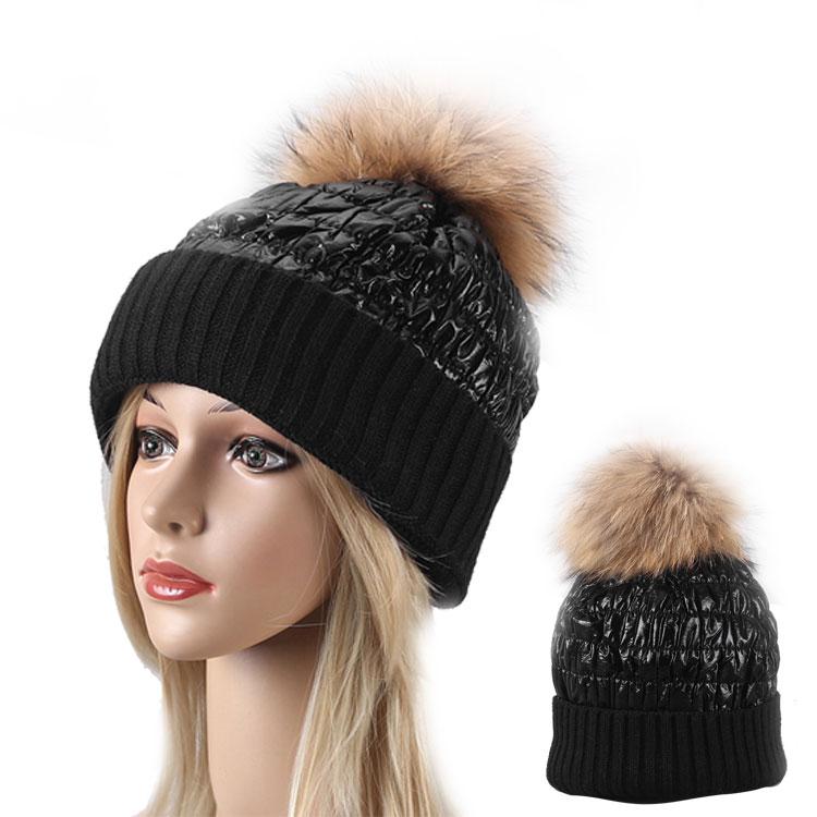 custom wholesale striped ski beanie hat