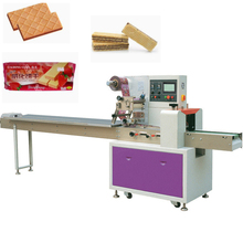 Foshan fournisseur comptage automatique de biscuit de gaufrette de machine à emballer