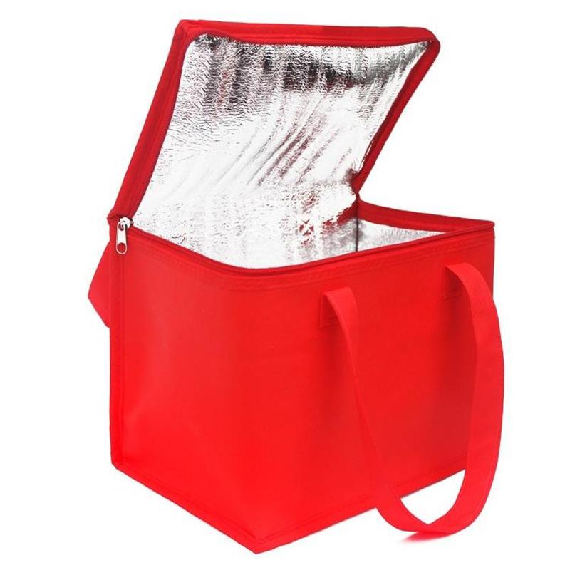 Складной Большой кулер портативный еда торт изолированный Алюминий фольга термальность коробка водонепроницаемый Ice Pack коробки для обедов