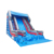Outdoor Big Inflatable Bouncy Stairs Water Slide Playground Air Bounce Blue Water Slides Bouncer For Kids Children