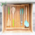 Bamboo Expandable Drawer Organizer Premium Cutlery Utensil Tray
