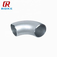 Stainless Steel 316SS 304SS Butt Welding Seamless Pipe Fitting 90 Degree Long Radius Elbow