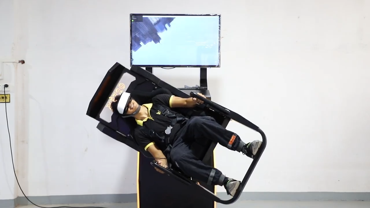 720 Degree Rotation 9D VR Game Simulator Virtual Reality Roller Coaster For VR Amusement Park