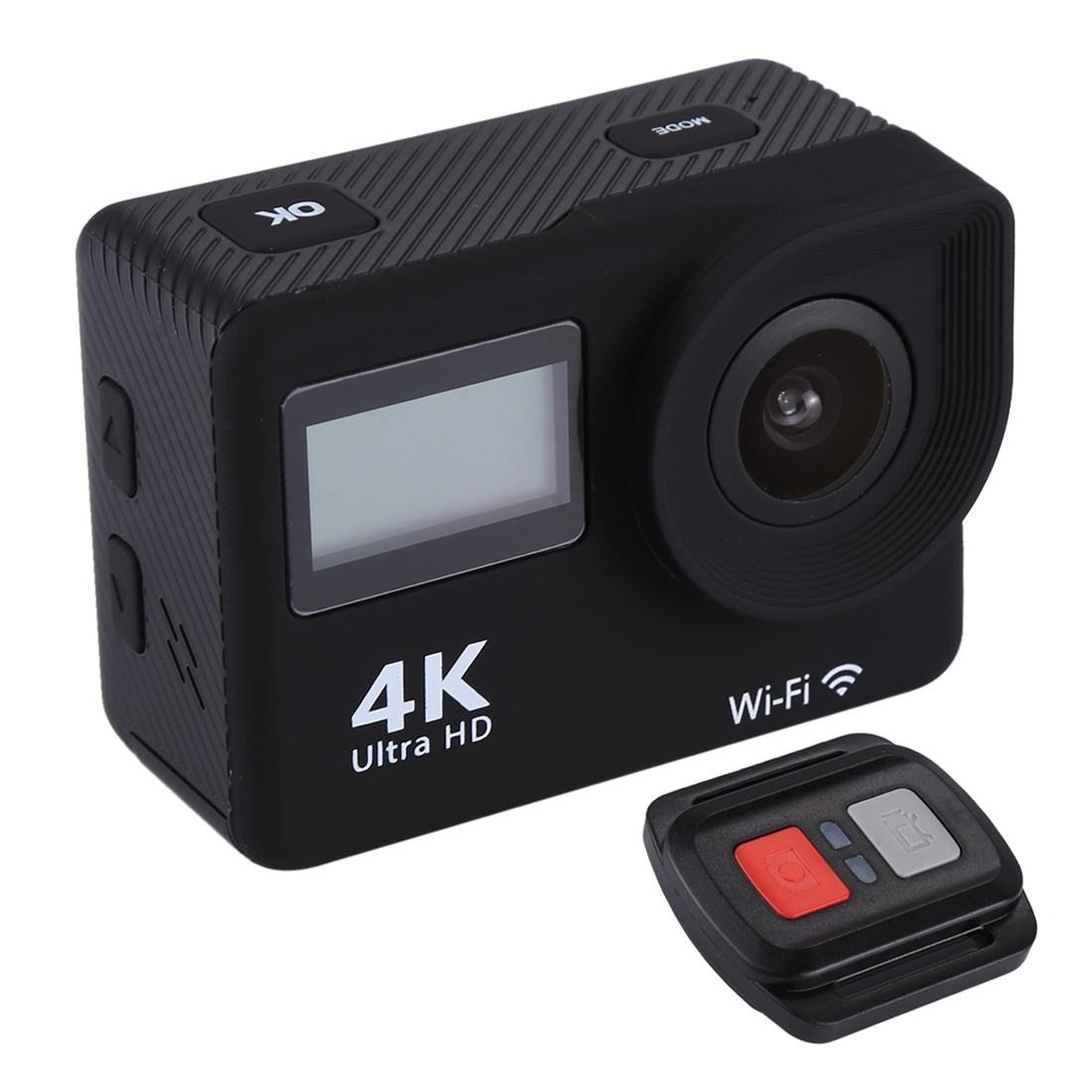 Dropshipping S300 HD 4K WiFi 12.0MP Sport Camera with Remote Control & 30m Waterproof Case