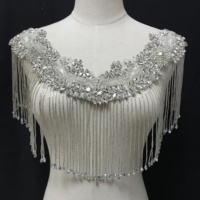 elegant bridal decorative jacket bolero for wedding