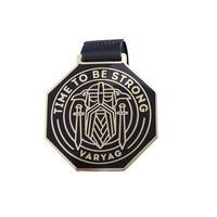 Custom 2020 Race Finisher Enamelled Star 3 D Retro Metal Medal