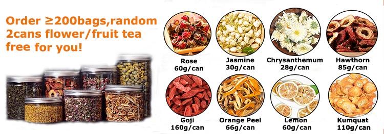 Chinese traditional healthy red rose bud, chrysanthemum, red goji berry , jujube mixed flower tea - 4uTea | 4uTea.com