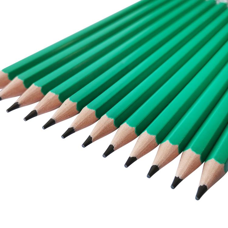 High Quality 7inch School Writing Plastic HB Lead Pencil