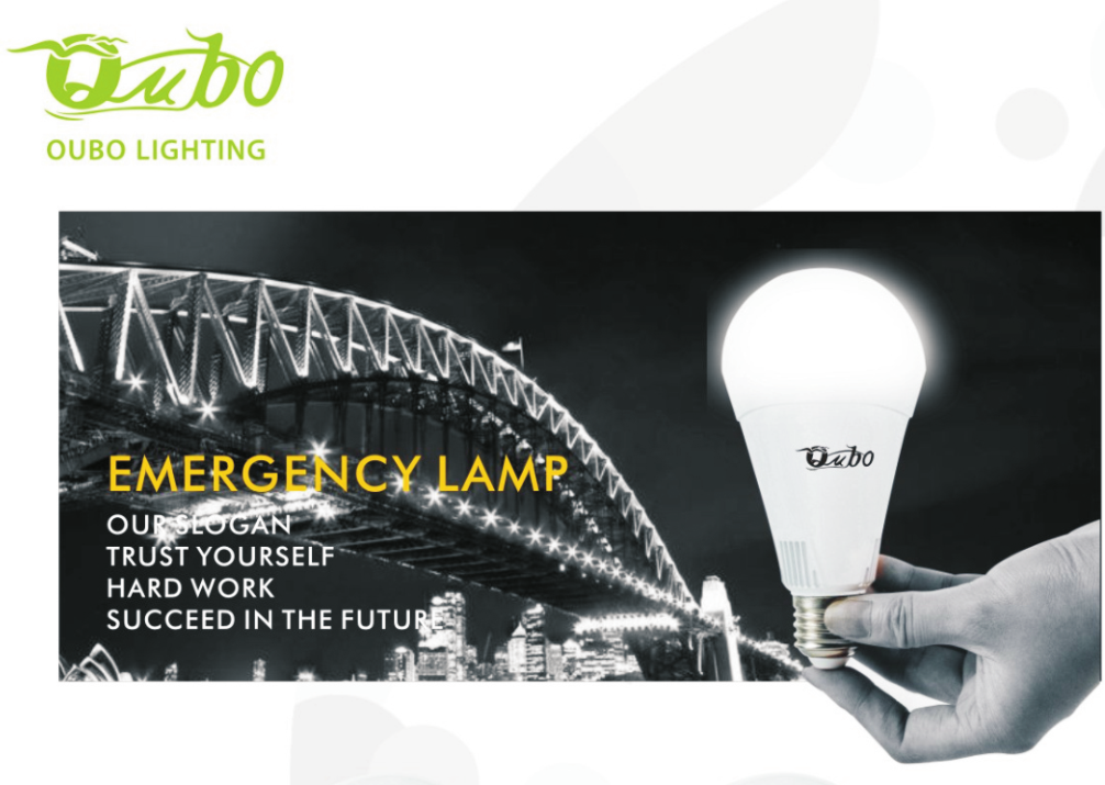 China manufacturer LED emergency bulb,9W 12W 15W Rechargeable LED Bulb
