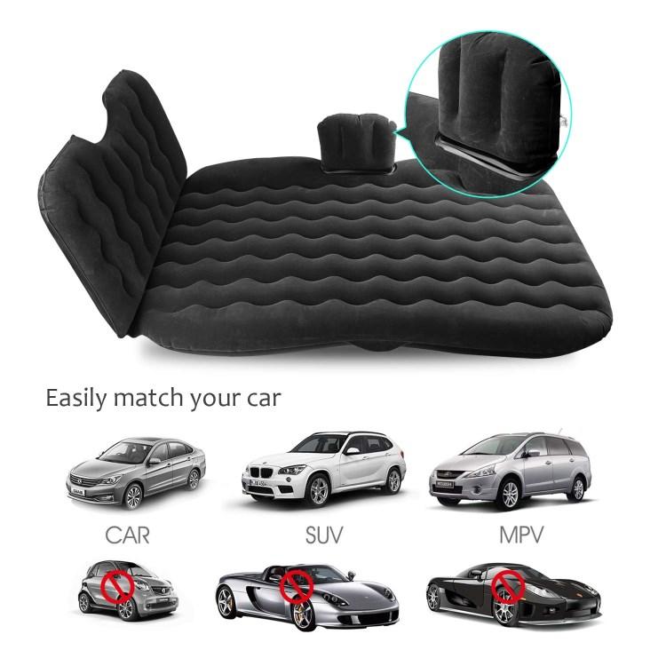 Grosir Perjalanan S PVC Gelombang dan Berkelompok Inflatable Bed Truk SUV Mobil Kasur Udara