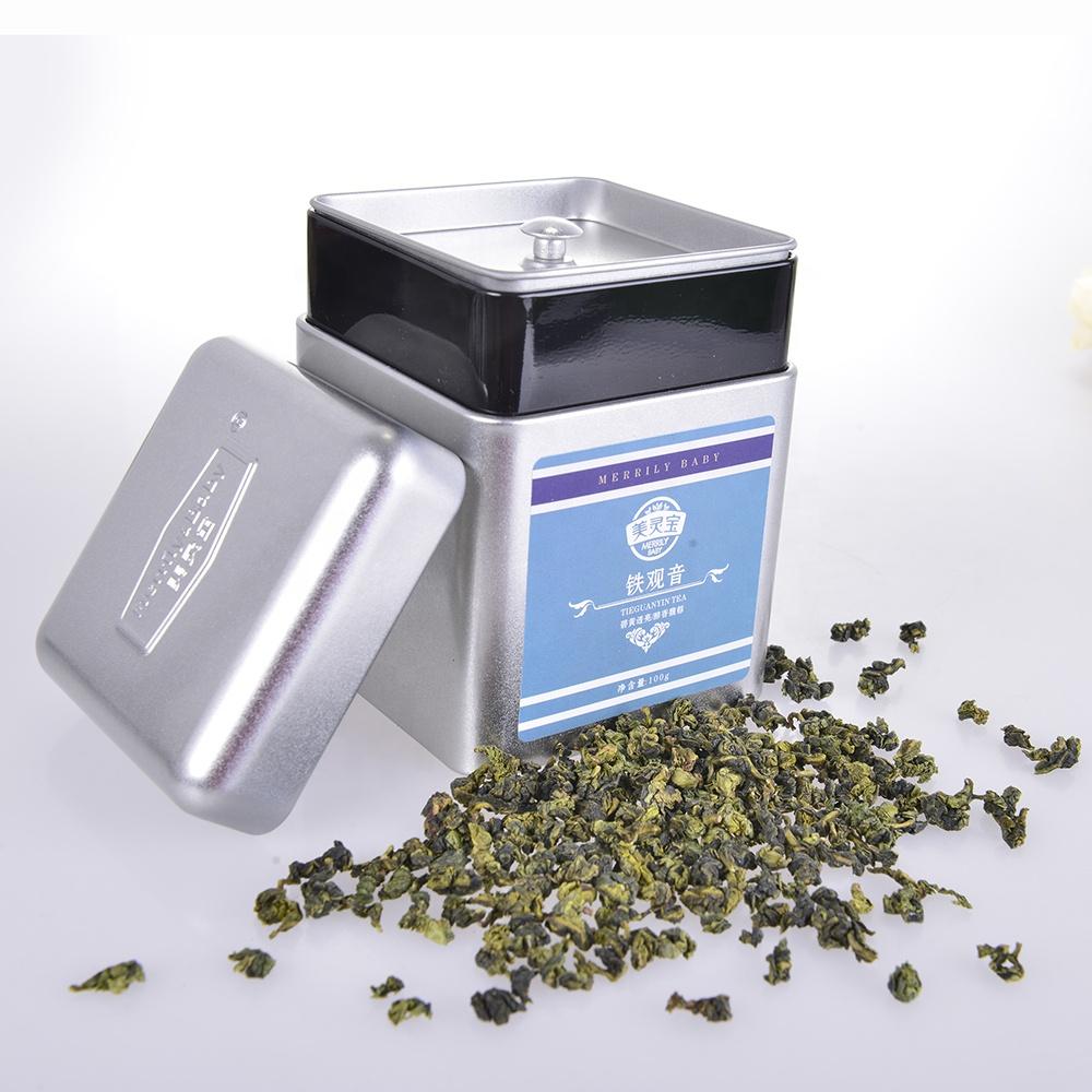 Private Label Gift Tea Fujian Organic Oolong Tea Anxi Tieguanyin for Milk Tea - 4uTea   4uTea.com