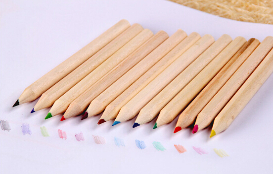Wholesale Cheap Wholesale Pencils Hot Sale Custom Wooden Color Pencil