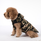 Pet Dog Cat Puppy Clothes Pet Hoodie Hooded Clothing Coat Hunter Camouflage Pattern Apparel