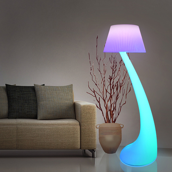 2020 New Product Design Modern Home Lighting Decoration Color Inside Rgb Waterproof Led Floor Lamp For Home