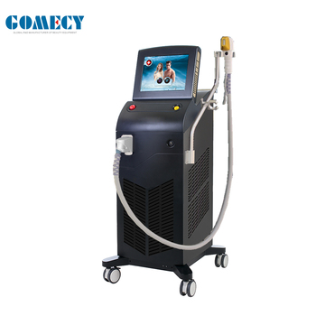 GOMECY Portable/Vertical Permanent hair removal diode laser depilation 808nm ce approved
