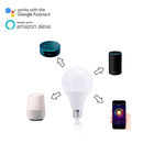 Smart Dimmable 10w color adjustable easy to install bulb work with Alexa and Google voice /remote control smart led light bulb