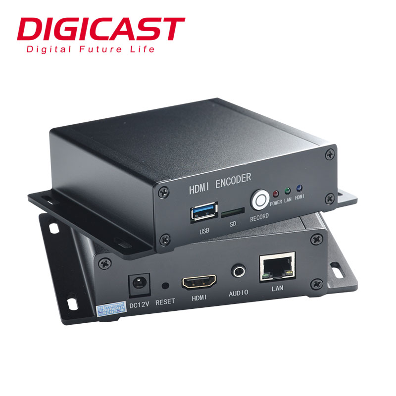 RTSP RTMP/UDP SDI IPTV HD 1080 P H.264 H.265 HEVC Encoder per IP Audio Video Server di Streaming IPTV encoder