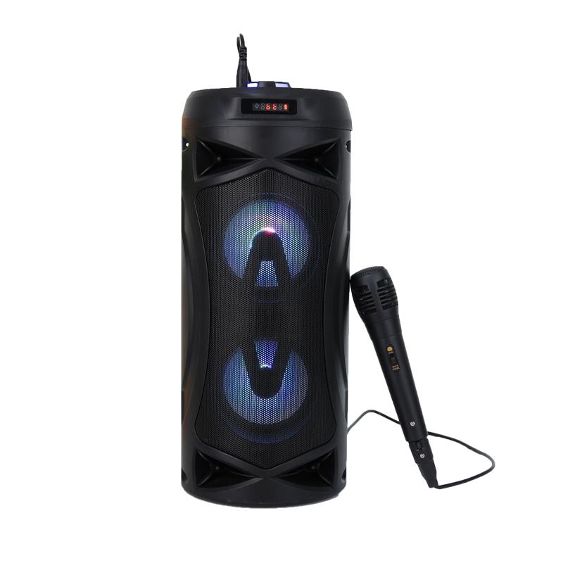 2020 new 8W portable karaoke speaker with microphone