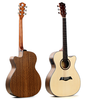 guangzhou musical instruments acoustic electric guitar