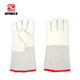 winter cowhide inner cotton glove anti-cold working gloves for auto repair industry