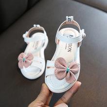 2020 детские пляжные сандалии для девочек, милые цветочные детские туфли принцессы, Детские босоножки для свадьбы для вечеринки, розовые моде...(China)