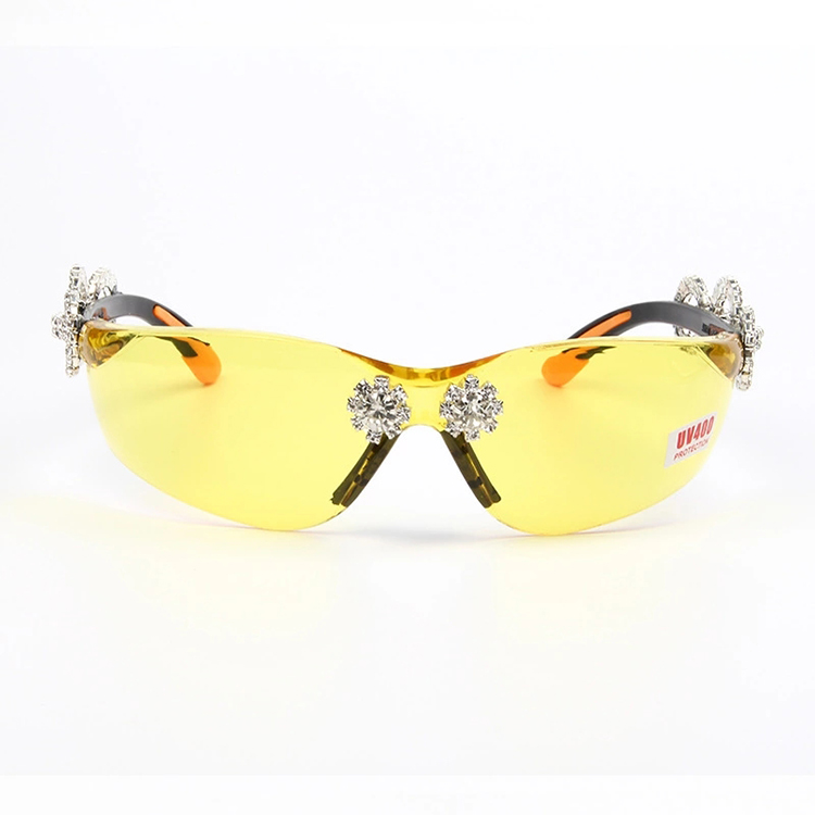 High Quality Fashionable Diamond UV400 Sunglasses Women Crystal Sunglasses